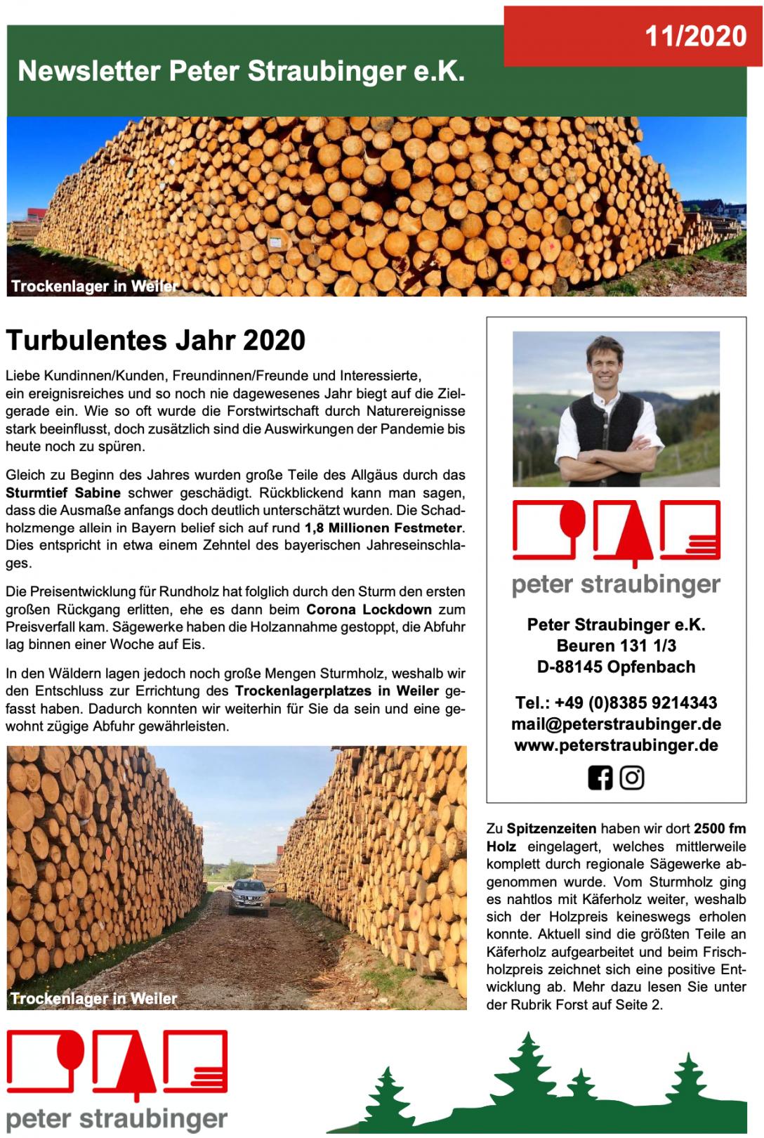 Newsletter_Straubinger_11_2020_Cover